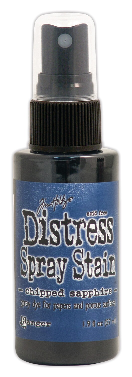 Encre Distress Spray Stain Chipped Sapphire