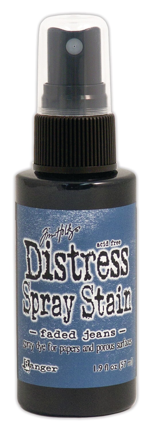 Encre Distress Spray Stain Faded Jeans