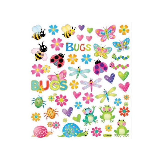Bugs In Couleur Stickers