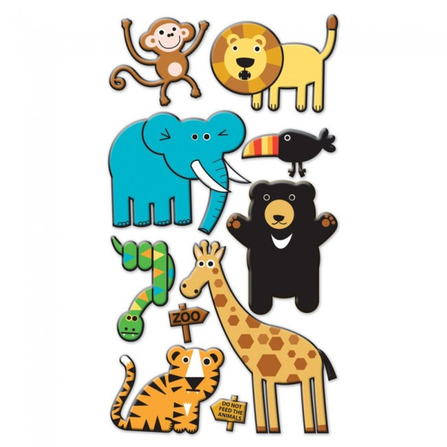 Doodle Zoo Stickers
