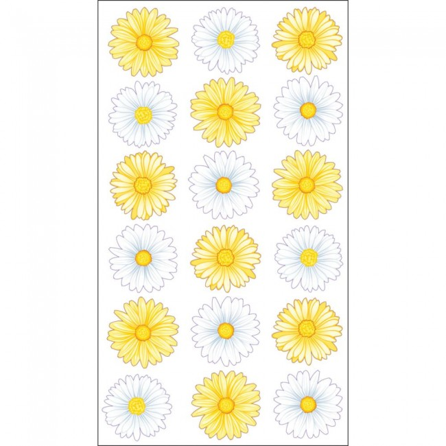 Lazy Daisies Stickers