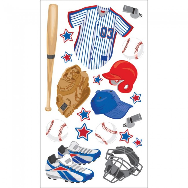 Baseball Gear Stickers