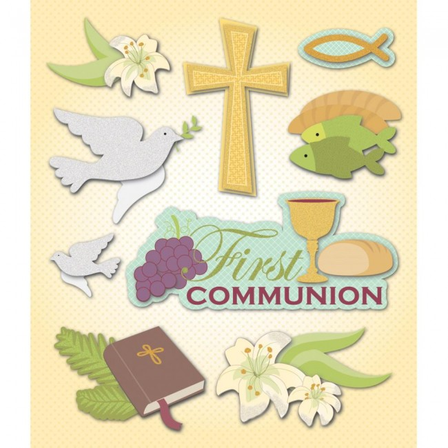 1st Communion Sticker Medley