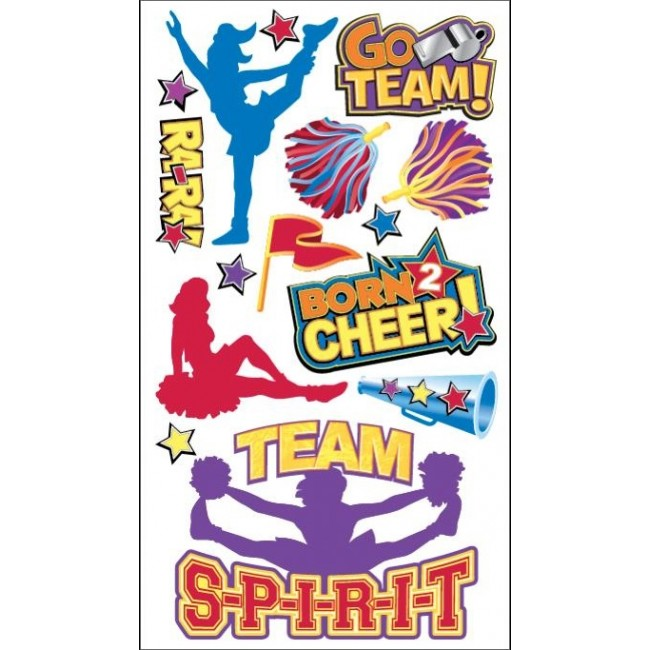 Cheerleaders Stickers