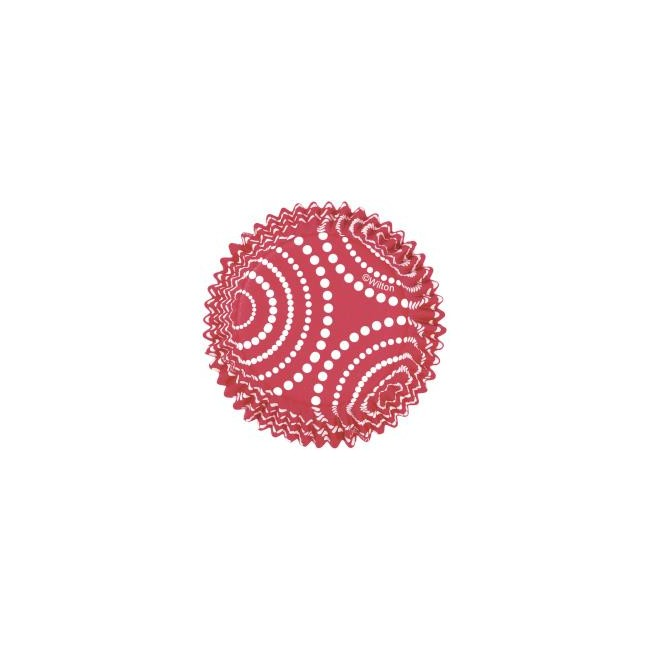 Color Cups Red Circle Dots
