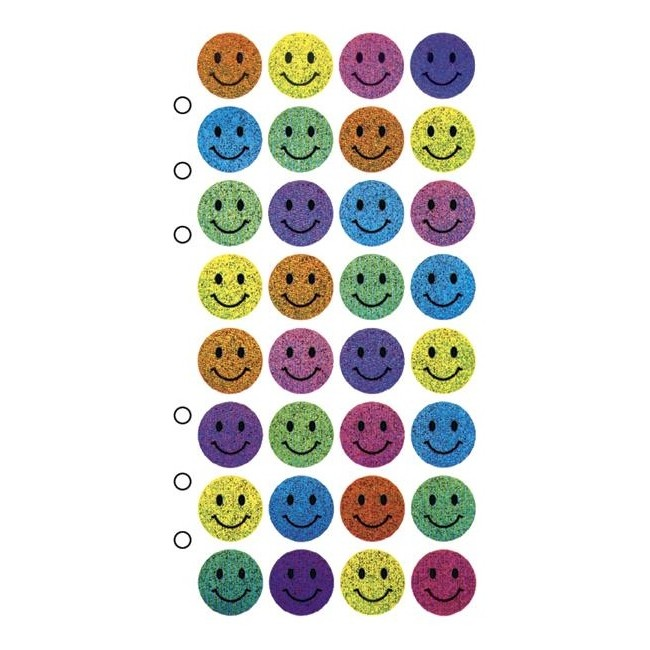 Happy Faces Stickers