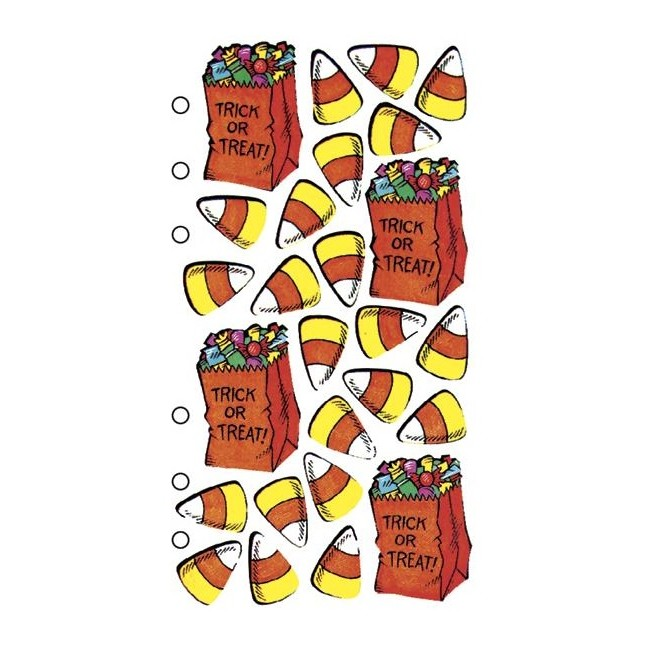 Trick Or Treat Stickers