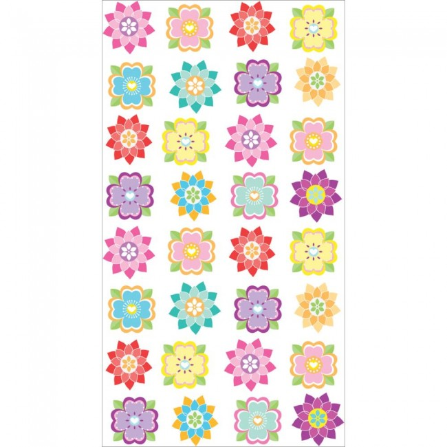 Mini Flower Repeats Stickers