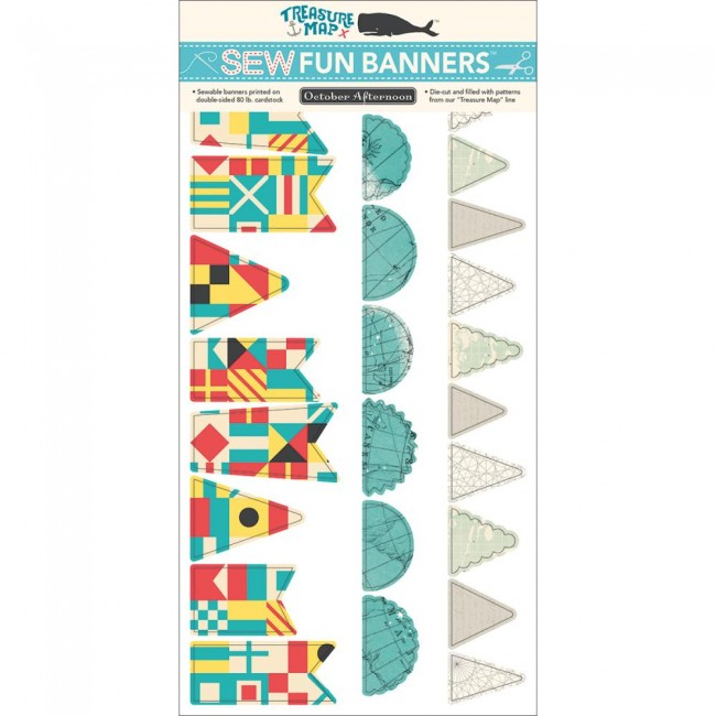 Sew Fun Banners Treasure Map
