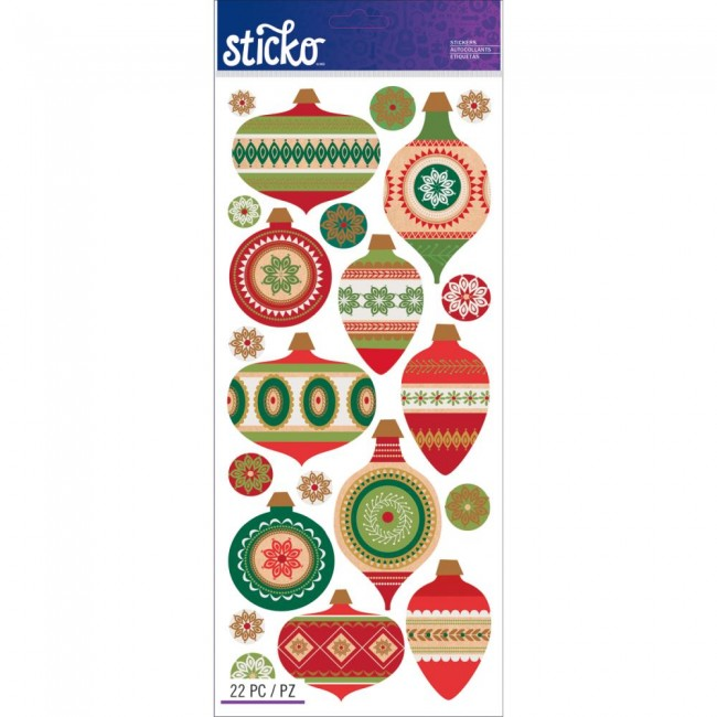 Ornaments Stickers