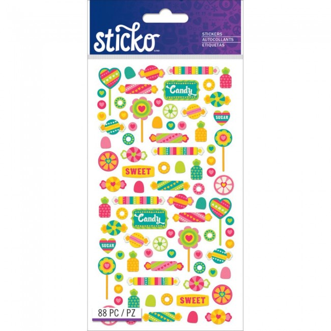 Tiny Candy Stickers