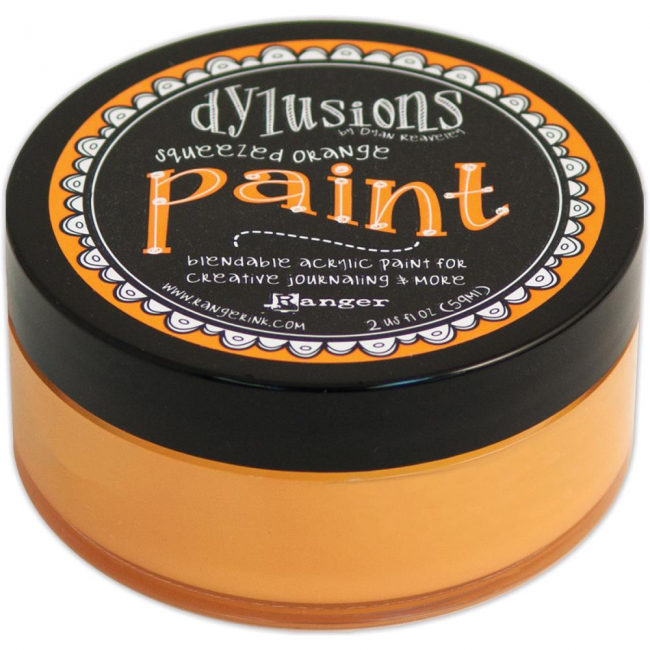 Peinture acrylique Dylusions - Squeezed Orange
