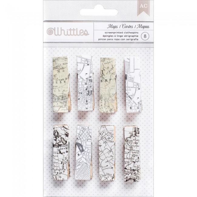 Whittles Clothespins Maps