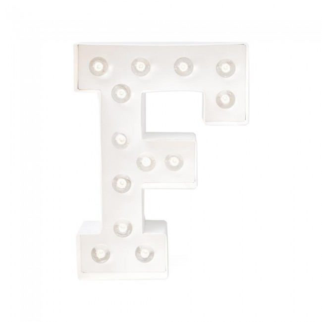 """Lettre Marquee Love 8"""" F"""