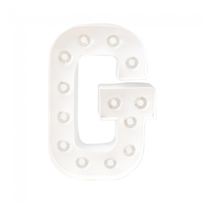 """Lettre Marquee Love 8"""" G"""