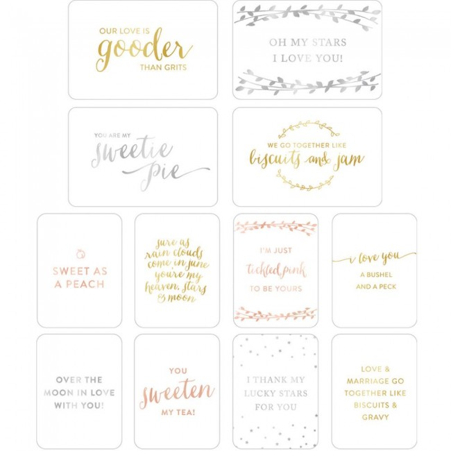 Specialty Cards Southern Wedding Frases