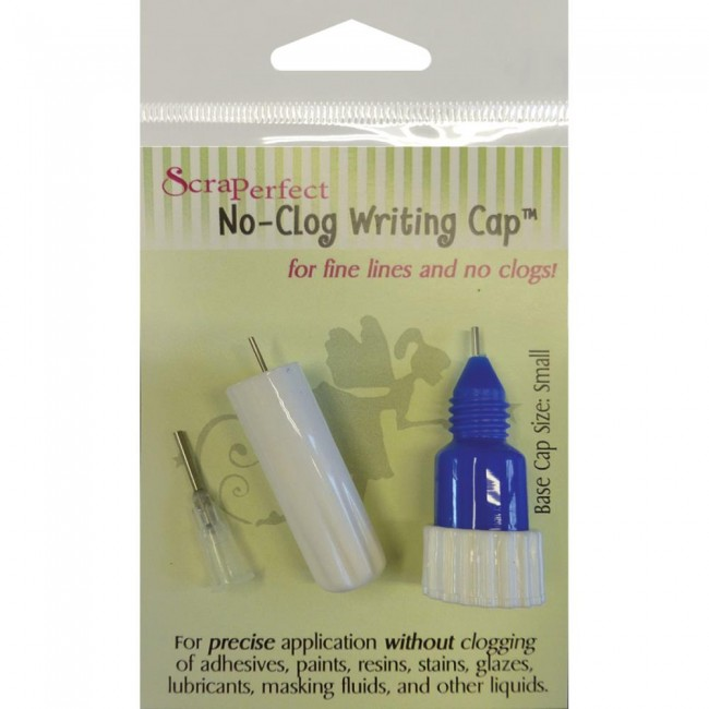 No-Clog Writing Cap Small