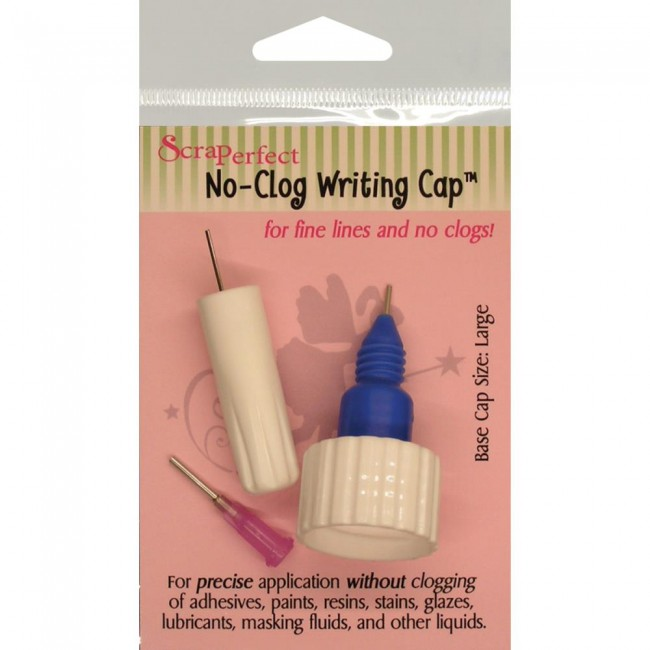 No-Clog Writing Cap Large