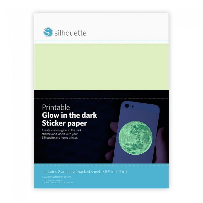 Printable Glow In The Dark Sticker Paper