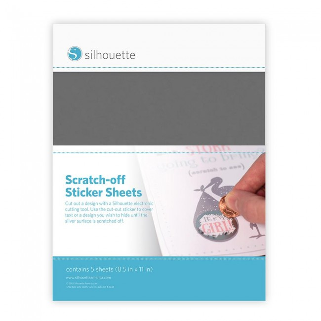 Scratch Off Sticker Sheets