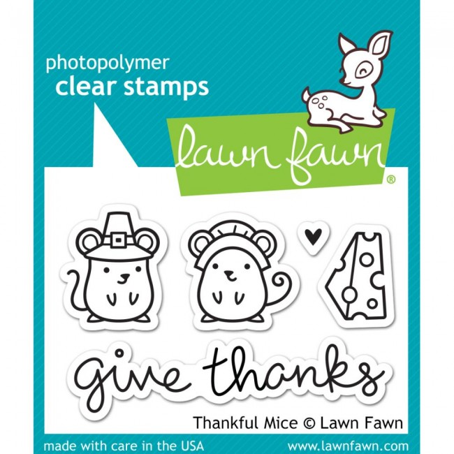Tampon Acrylique Thankful Mice
