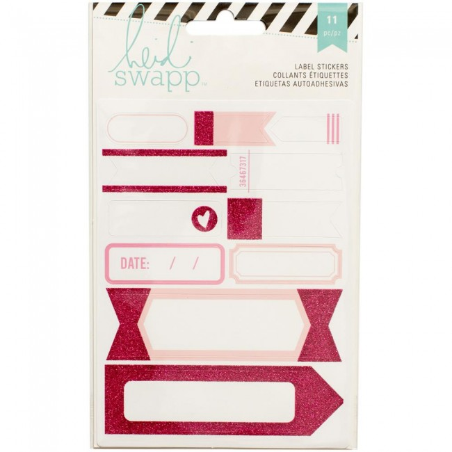 Pink Labels Stickers