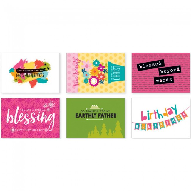 Family Blessings By Mail Postcards