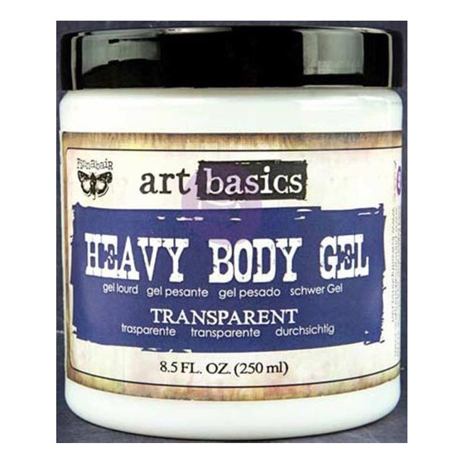 Transparent Heavy Body Gel