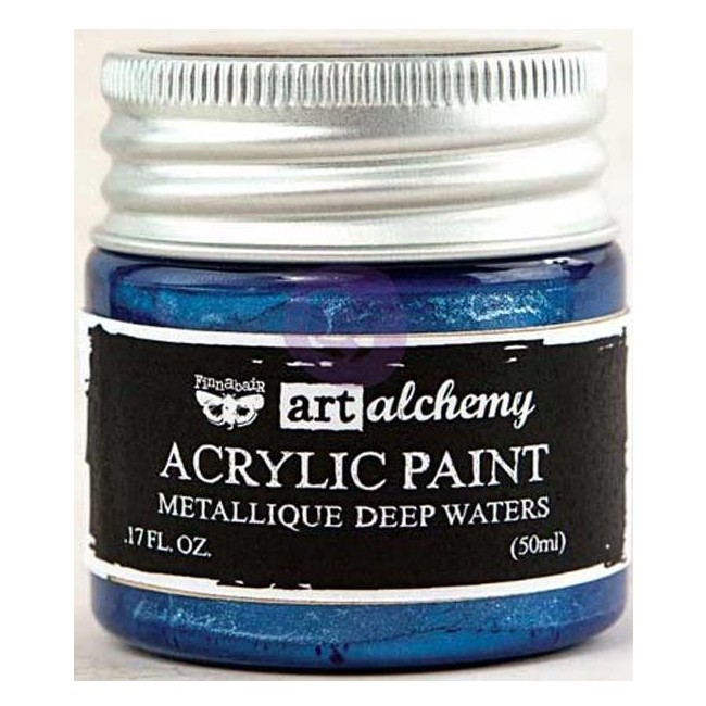 Peinture Acrylique Metallique - Deep Waters