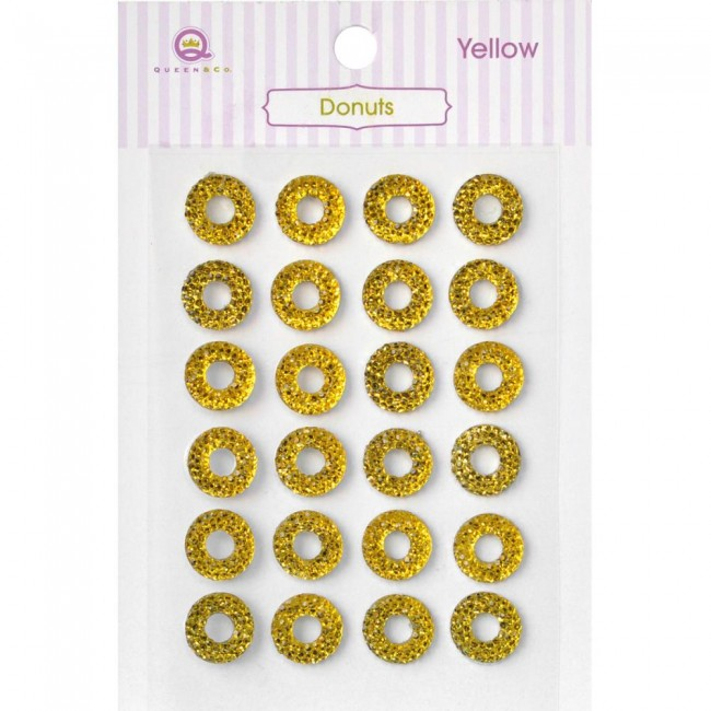 Donuts Yellow