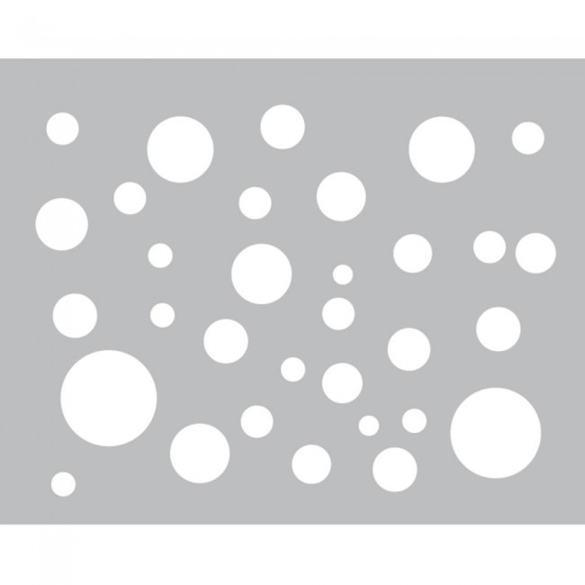 Polka Dots Foam Front Card Kit