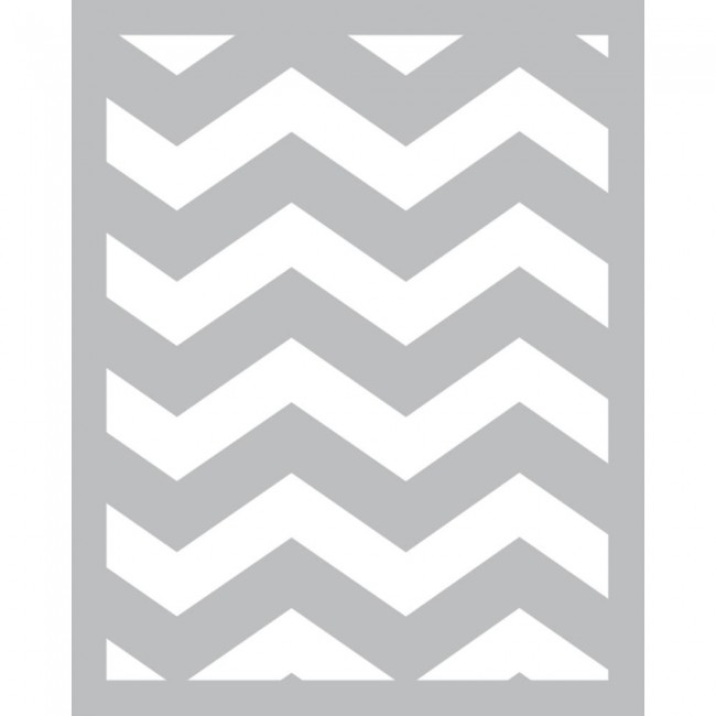 Chevron Foam Front Card Kit