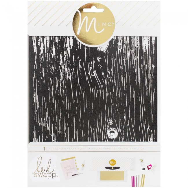 Minc Art Screen Woodgrain