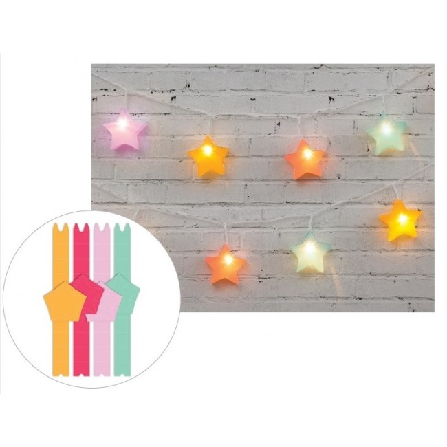 Bright 3D Star Lanterns Die Cut Diy Party