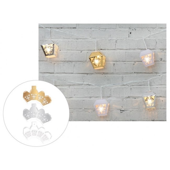 Metallic 3D Garden Lanterns Die Cut Diy Party
