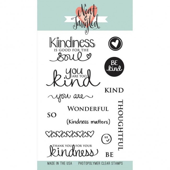 Tampon Acrylique Kindness Matters