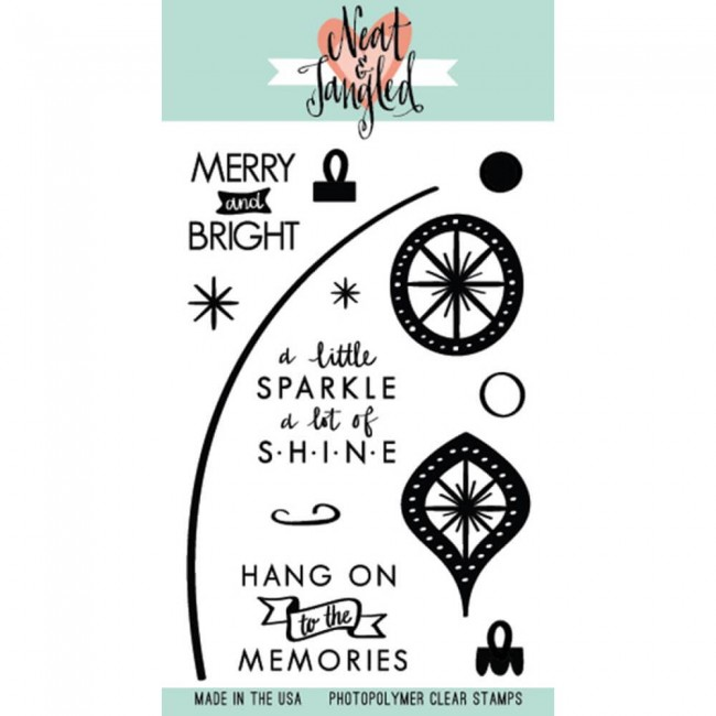Tampon Acrylique Merry & Bright