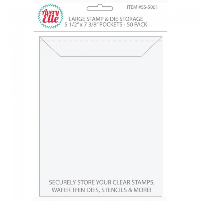 "Enveloppes Pour tampons - Large 5.5"" x 7.25"""