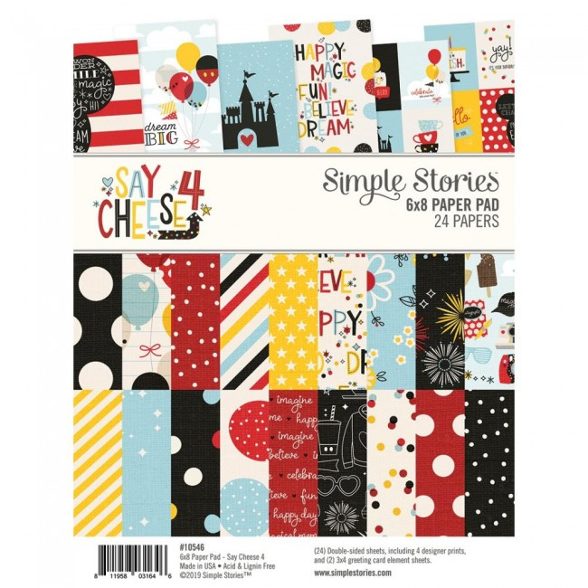 Stack Papiers Imprimés 6x8 Say Cheese 4
