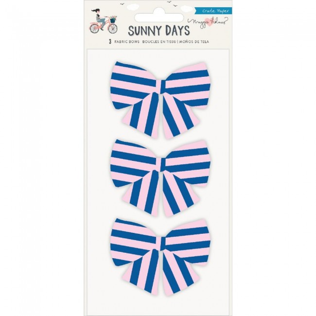 Autocollants Sunny Days Fabric Bows