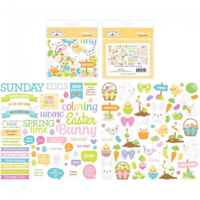 Die Cuts Hoppy Easter Odds & Ends