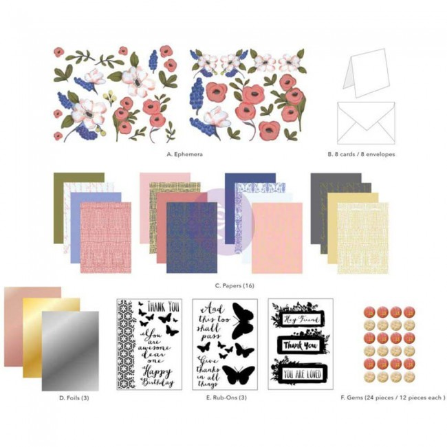 Kit de cartes Christine Adolph