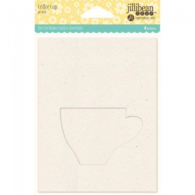 Carte et enveloppe Shaped Shaker - Coffee Cup