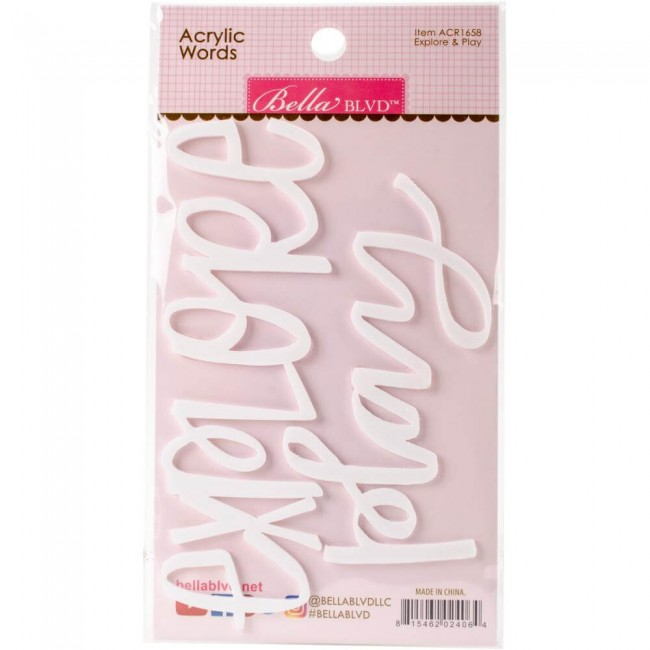 Die Cuts Acryliques - Play & Explore