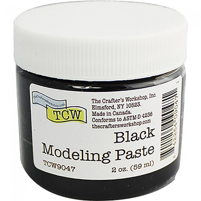 Pâte à Modeler Black 59 ml