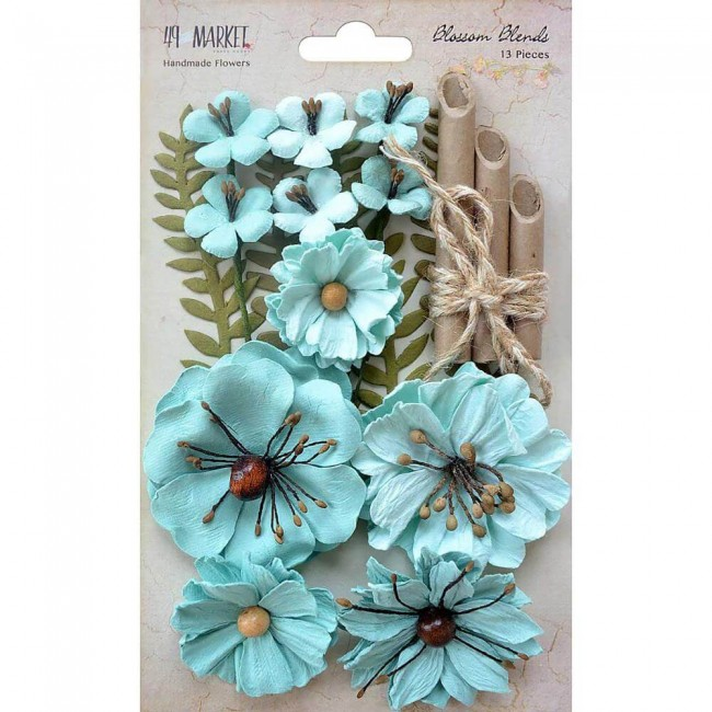 Fleurs en Papier Blends - Sea Breeze