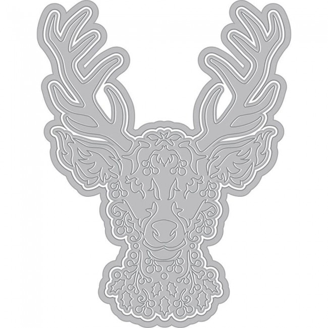 Matrice de Découpe Winter Deer With Frame (Fancy Dies)