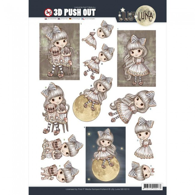 Die Cuts Lilly Luna - A Friend To Hold