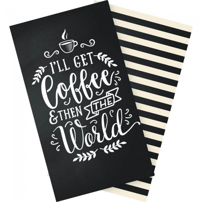 Cahier pour Traveler's Notebook Coffee & Friends Blank