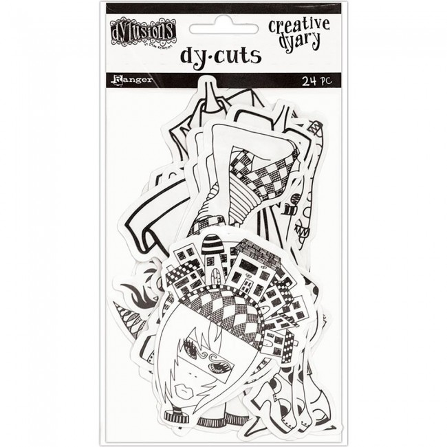 Die Cuts Creative Dyary Set 7